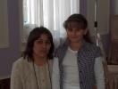 Gamar Khalilova and Arzu Khalilova